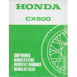 HONDA CX 500 (Manuel de base)