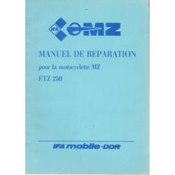 MZ 250 ETZ (manuel atelier septembre 1984)