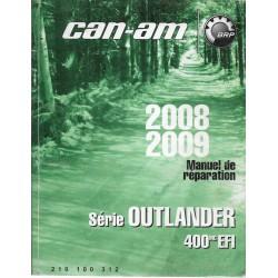 CAN-AM Quad Outlander 400 mc EFI de 2008-2009