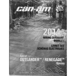 CAN-AM Schémas électriques Outlander / Renegade 2014