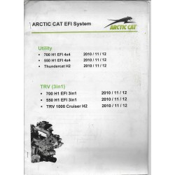 ARTIC CAT EFI System (notes internes atelier) 2012