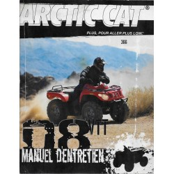 ARTIC CAT Quad VTT 366 de 2008