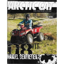 ARTIC CAT Quad VTT 700 diesel de 2008