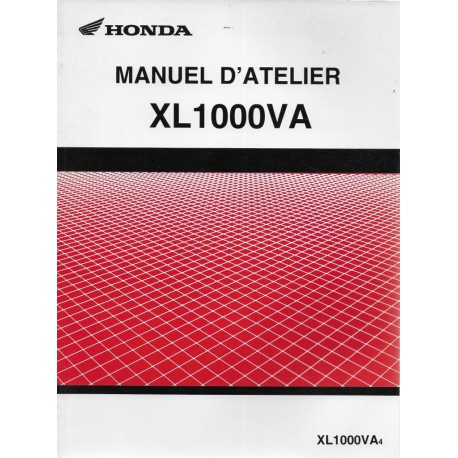 HONDA XL 1000 V (Manuel atelier 05 / 2003 + 04 / 2004)
