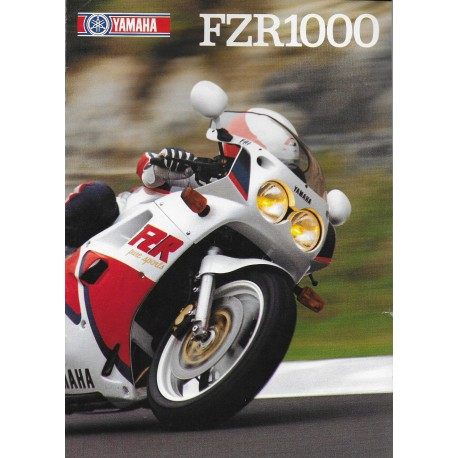YAMAHA FZR 1000 de 1987 (Prospectus)