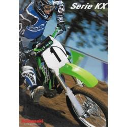 KAWASAKI KX de 2001 (catalogue)