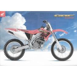 HONDA CRF 450 R de 2001 (Prospectus)