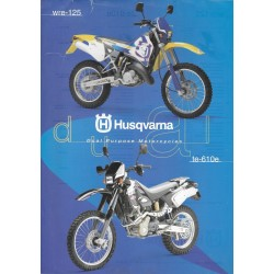 HUSQVARNA WRE-125 / TE-610e (Prospectus)