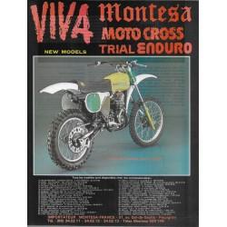 MONTESA CAPPRA 250 VE Cross (publicité Moto-journal)