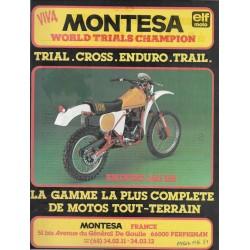 MONTESA 350 H6 Enduro (Publicité Moto-Journal)