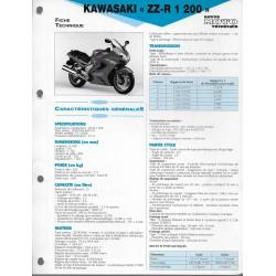 KAWASAKI ZZ-R 1200 (2002) fiche technique E.T.A.I