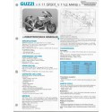 GUZZI V 11 SPORT / V 11 Le Mans Fiche technique E.T.A.I