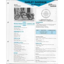 HARLEY DAVIDSON 883 Sporster (1987) fiche technique E.T.A.I