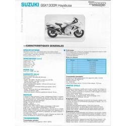 SUZUKI GSX 1300 R Hayabusa K8 et K9 (fiche RMT)