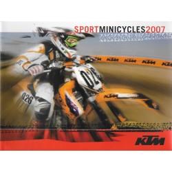 KTM gamme sport Minicyles de 2007 (catalogue)