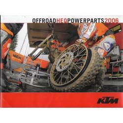 KTM accessoires / équipements 2006 (catalogue)