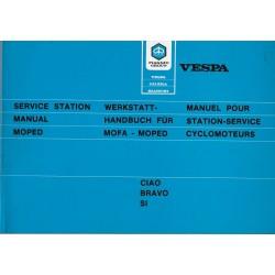 Vespa Ciao - Bravo - Si (manuel atelier novembre 1984)